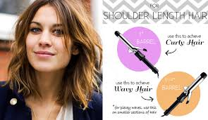 whats the best curling wands for short hair 1 5 curling wand the right curling iron for your hair length