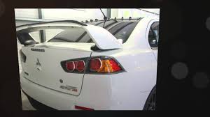 used mitsubishi lancer for sale mitsubishi lancer evolution x 2 0 mr fq 440 4dr sst for sale in