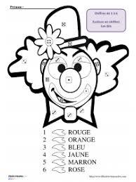 librairie interactive coloriage magique de clown