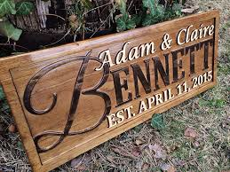 amazon com personalized family name sign personalized wedding
