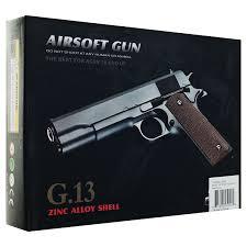 amazon com whetstone g 13 1911 zinc alloy airsoft pistol