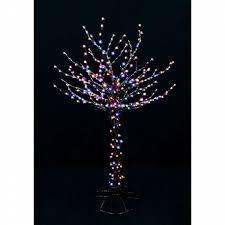 santa u0027s best led bare branch tree christmas decoration