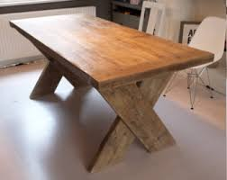 shipping a table across country rustic 8 seater farmhouse dining table with reclaimed top and