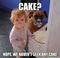 No Cake Meme - cake meme