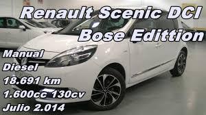 renault scenic dci bose edition 14 130cv manual diesel 18 691km en