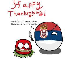 serbia enjoys thanksgiving