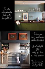 greenish grey and blue grey kitchen cabinets