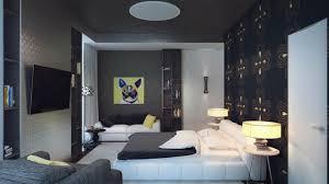 deco de chambre noir et blanc peinture noir et blanc chambre solutions pour la décoration