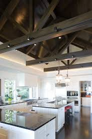 Lighting For Cathedral Ceiling In The Kitchen by Track Lighting Ideas Kitchen Contemporary With Cathedral Ceiling