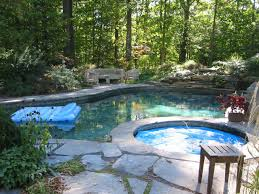 Natural Stone Patio Ideas Great Patio With Pool Design Ideas Patio Design 186