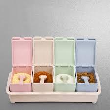 boite de cuisine nouvelle arrivée cuisine nécessaire en plastique épices boîte