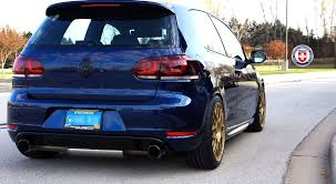 volkswagen brunei volkswagen golf gti mk6 with r40 in satin gold hre performance