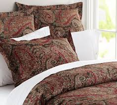 Pottery Barn Alessandra Duvet Carrie Paisley Duvet Cover U0026 Sham Pottery Barn I Want This In