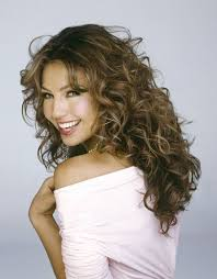 artist of hairstyle thalia mexican actress singer artist beauty and fashion