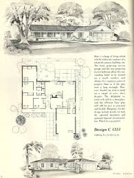 Mid Century House Plans Vintage House Plans 1331 Antique Alter Ego