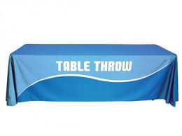 table banners and signs trade show banners table cloths banana banner signs