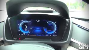 Bmw I8 Interior - bmw i8 2016 interior and displays youtube