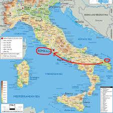 Rome On A Map Brindisi Elder Craig Jones