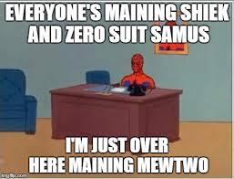 Samus Meme - spiderman computer desk meme imgflip