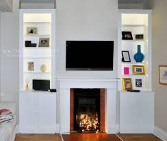 Built In Tv Fireplace Neptune Chichester Store Strachan Studies Contemporary Fitted