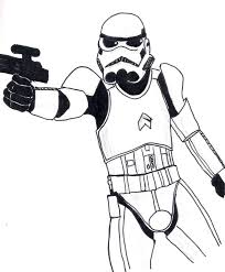 stormtrooper coloring pages kids coloring
