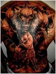 werewolf tattoo by punxnotdead309 on deviantart badass werewolf