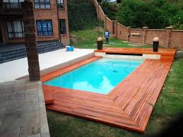 ideas above ground pool deck plans effortless above ground pool