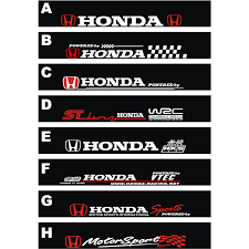 honda car stickers compare prices on logo honda cars shopping buy low price