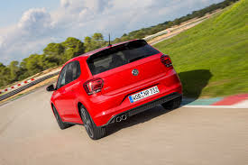 volkswagen polo red 2018 volkswagen polo gti review gtspirit