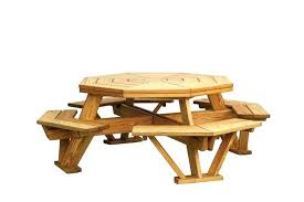 Octagon Patio Table Plans Picnic Table Plans Home Depot Processcodi