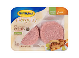 butterball turkey marinade fresh seasoned turkey burger patties butterball