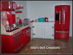 Dollhouse Furniture Kitchen Gigi U0027s Doll And Craft Creations American Doll Kitchen And