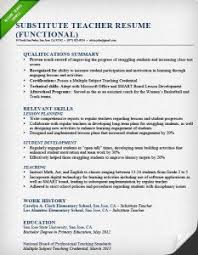 Example Of Functional Resume by Blog Humhr Org