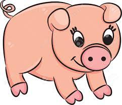 cartoon pig royalty free cliparts vectors stock