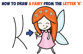 how to draw a fairy archives how to draw step by step drawing