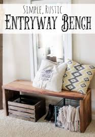 diy entryway bench retro exterior trend for the best 30 diy entryway bench projects