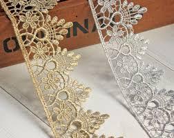 bulk lace ribbon gold lace trim etsy