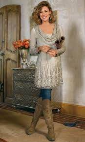 fashion over 50 boots and dresses tunics scarves and clothes