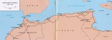 tunisia on africa map the tunisia caign battle of tunisia maps november 17 1942
