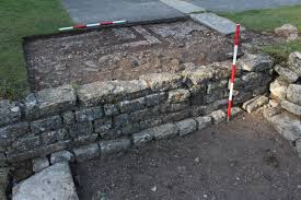 Buttress Wall Design Example Trench Archaeology National Trust Sw
