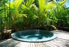 tropical garden ideas outdoor jacuzzi ideas tropical garden design ideas with fresh with