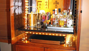 Floating Bar Cabinet Bar Zebra Inspired Rug For Small Mini Bar Design With Rustic