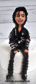 michael cake toppers cake topper michael jackson bad era cake by hip pop cakes