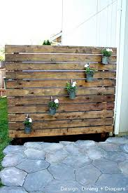 privacy fence for patio lovely home design