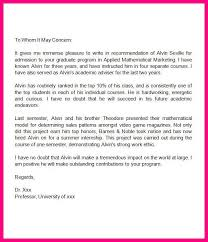 8 sample letter of recommendation for graduate from manager