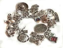 sterling silver bracelet ebay images Vintage sterling silver charm bracelet ebay JPG