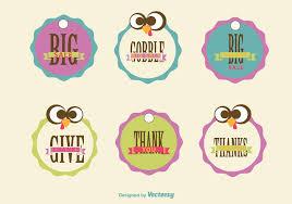 thanksgiving sale signs free vectors ui