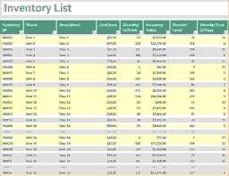 Chemical Inventory Template Excel by 6 Inventory Template Excel Procedure Template Sle