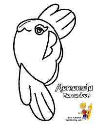 free coloring page for pokemon alomomola funny pictures