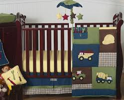 Tractor Crib Bedding Construction Zone Baby Bedding 11pc Crib Set Only 189 99